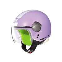 Casco Jet G1.1 VISOR STRIPES 004 lavanda