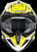 Casco enduro/cross Just One J12 Mister X giallo