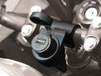 presa accendisigari stagno per moto con kit montaggio con presa usb