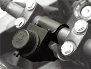 PRESA ACCENSIDIGARI 12V PER MOTO con kit montaggio