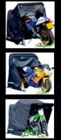 MOTO GARAGE SHELTER GRANDE 345x137x190cm NERO 600D RCOGRG06
