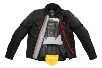 GIACCA UOMO IMPERMEABILE SPIDI TECH H2OUT JACKET NERO
