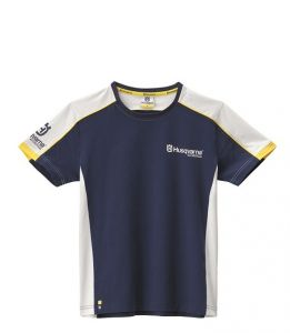 T-shirt uomo logo Husqvarna Team Tee