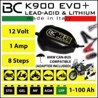 Caricabatteria E Mantenitore di carica per BMW BC K900 EVO +