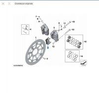PASTICCHE FRENO ANTERIORI BMW R1250  LC  Adventure/gs rt S1000rr/xr