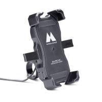 SUPPORTO TELEFONO UNIVERSALE  MH-PRO WC - Ricarica Wireless da moto